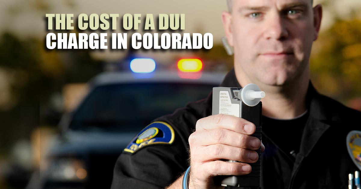 the cost of a DUI charge in Colorado